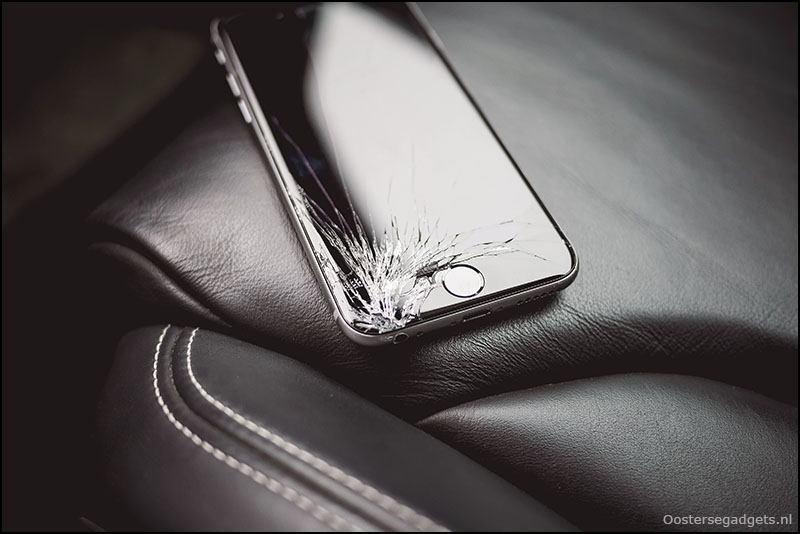 Kapot telefoonscherm