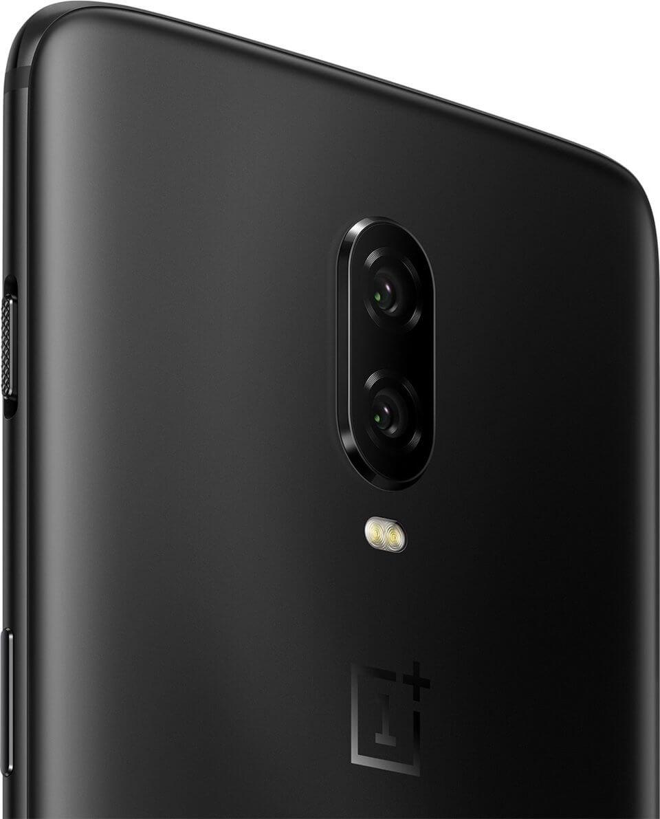 OnePlus 6T fingerprint en dubbele camera