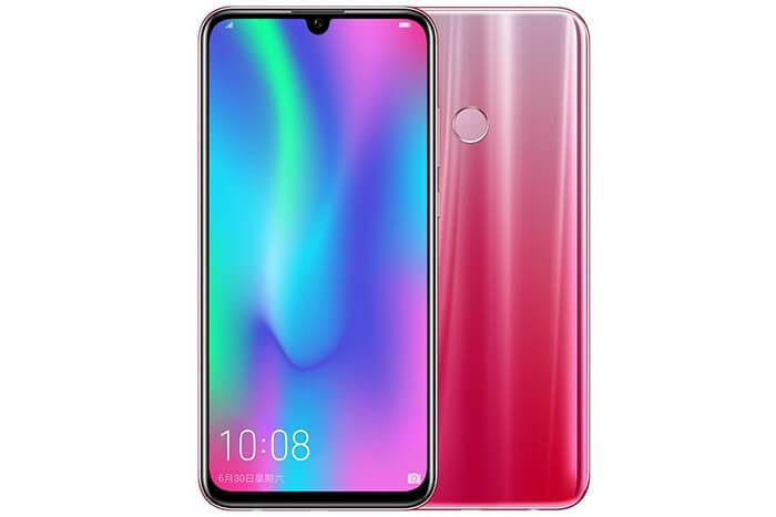 Huawei Honor 10 Lite rood