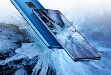Huawei Mate 20X blauw