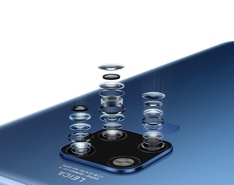 Huawei Mate 20X lenzen