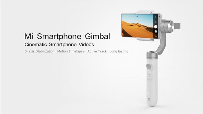 Xiaomi Mijia SJYT01FM 3 assige Handheld Gimbal Stabilisator