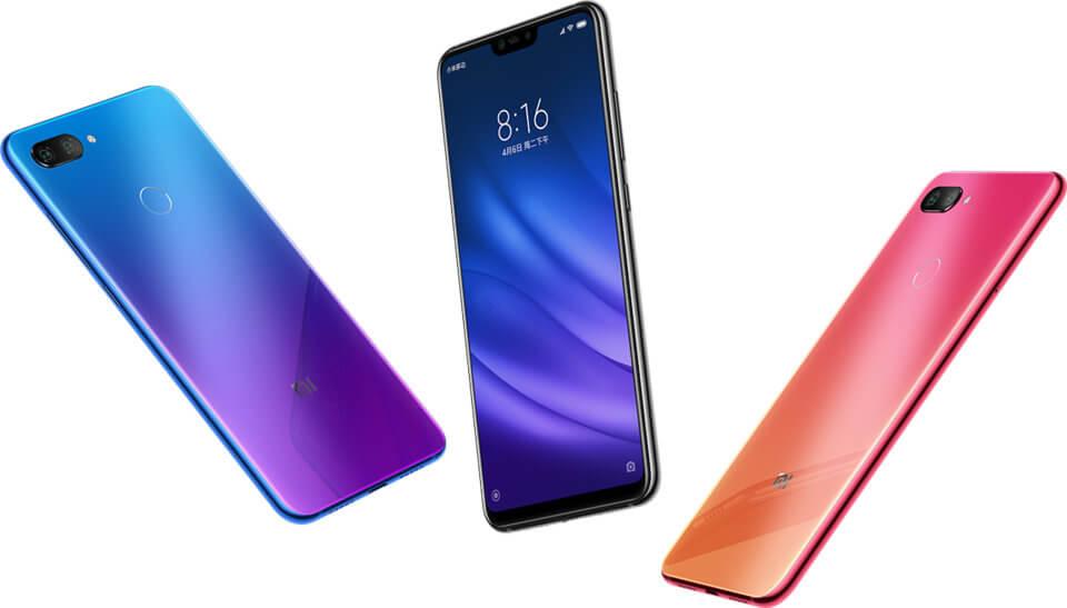 Xiaomi mi8 lite kleuren