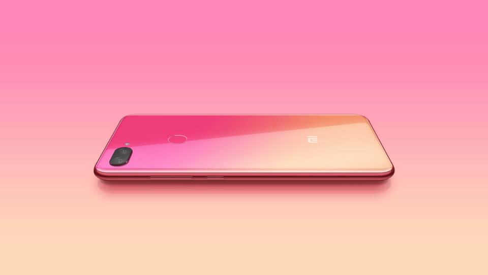 Xiaomi mi8 lite parelmoer